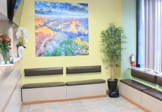 Comfortable Patient Area